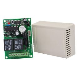 Control unit for remote controls 2 channels 433 Mhz with 2 remote controls Z307