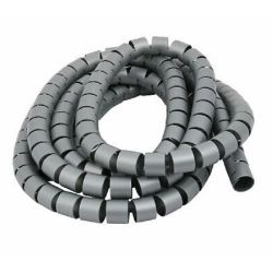 Spiral cable cover 20mm x 2meters gray EL811